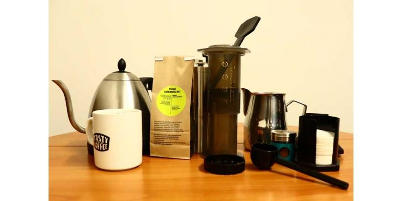 Кофе в аэропрессе: два способа приготовления