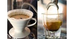 Фильтр-кофе и эспрессо, в чем разница?