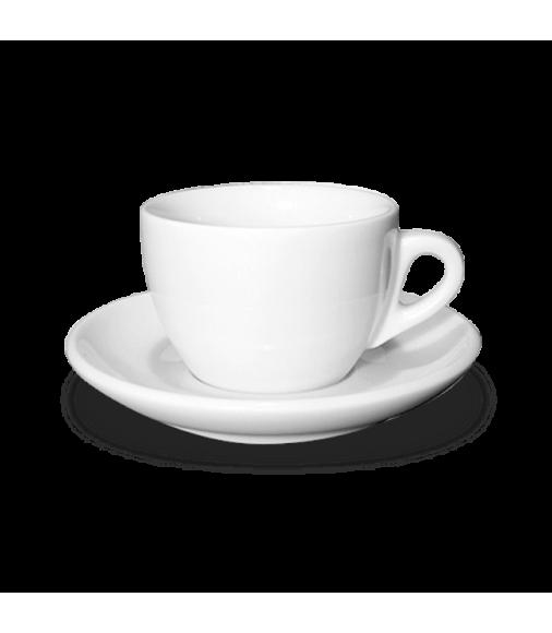 Купить Чашка для капучино с блюдцем Ancap в Интернет-магазин кофе и чая TastyCoffeeSale.KZ в Казахстане.