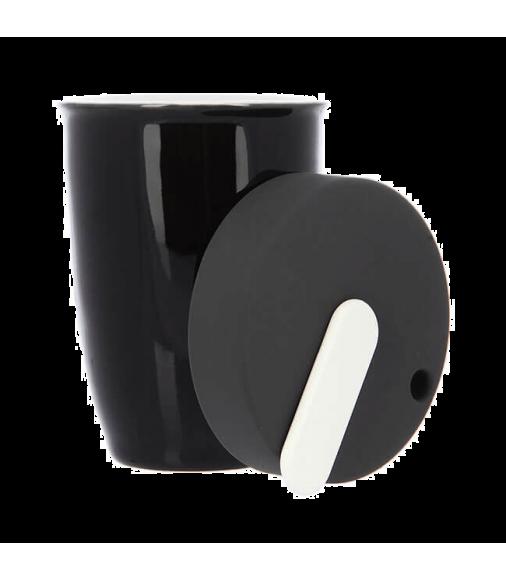 Купить Кружка фарфоровая Loveramics Nomad черная 250 мл в Интернет-магазин кофе и чая TastyCoffeeSale.KZ в Казахстане.
