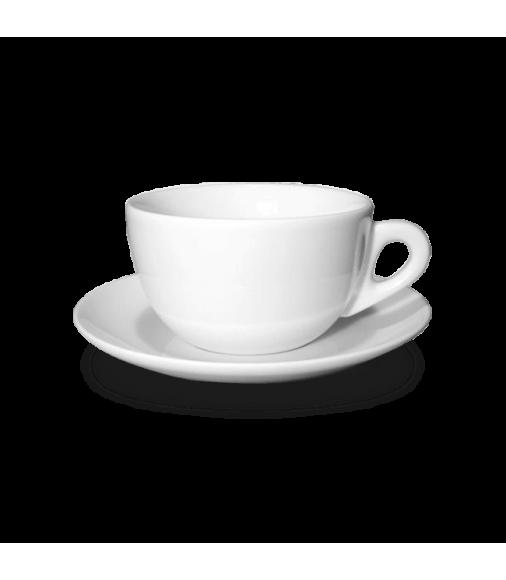 Купить Чашка для латте с блюдцем Ancap в Интернет-магазин кофе и чая TastyCoffeeSale.KZ в Казахстане.