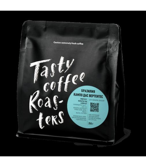 Купить Бразилия Кампо дас Вертентес в Интернет-магазин кофе и чая TastyCoffeeSale.KZ в Казахстане.
