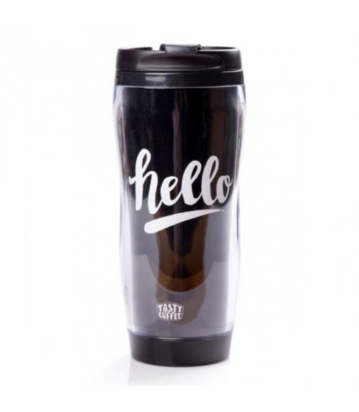 Купить Термокружка Hello в Интернет-магазин кофе и чая TastyCoffeeSale.KZ в Казахстане.